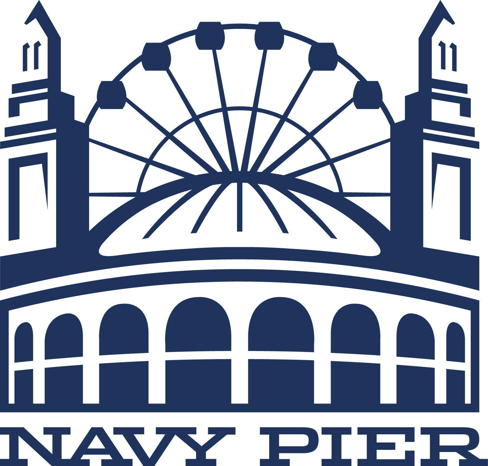Logo for Navy Pier.