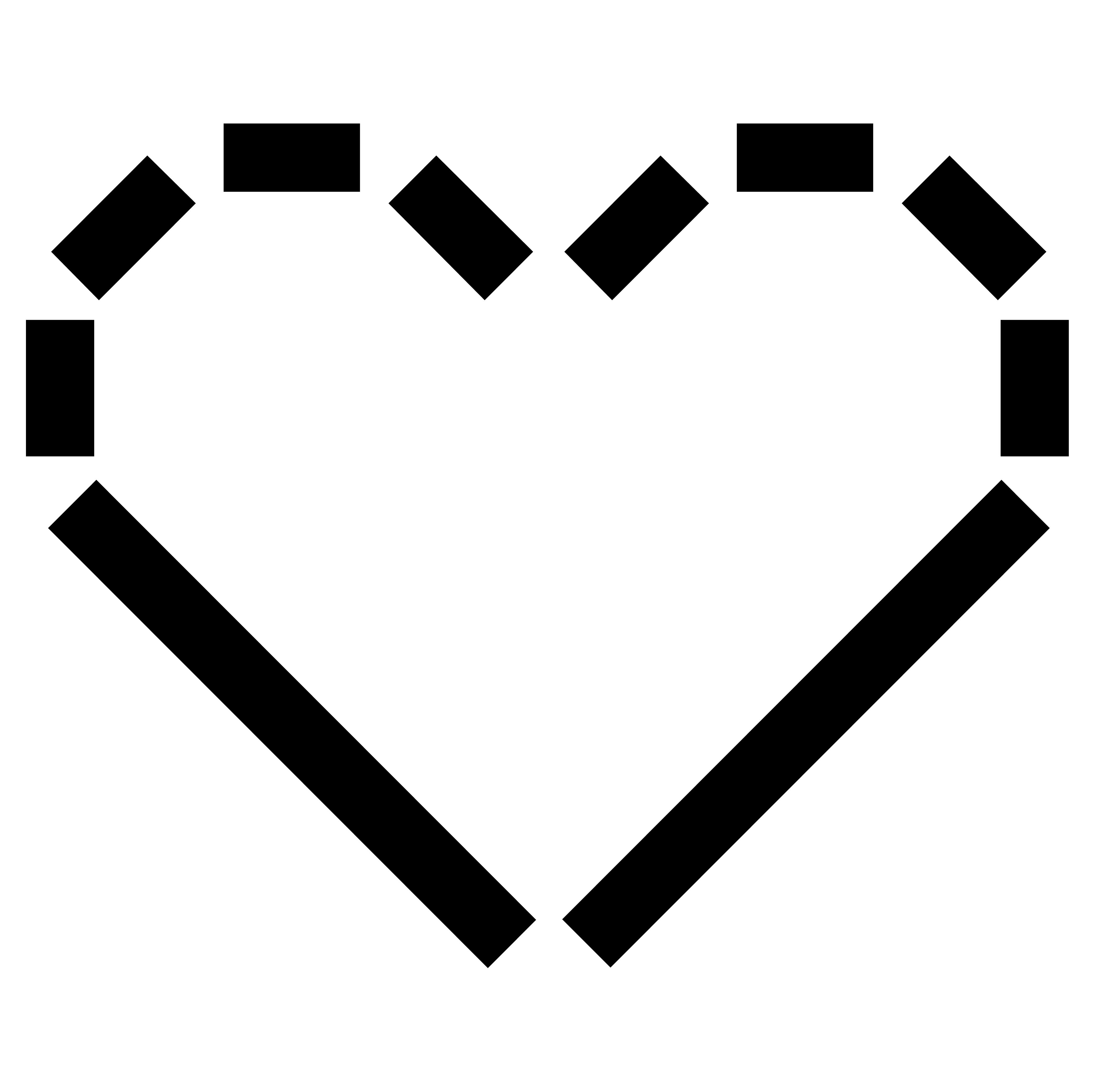A heart shaped logo in the style of the MCA typeface